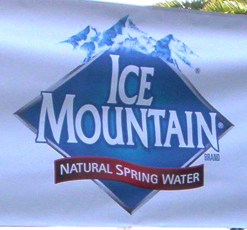 Digital Banner Ice Mountain
